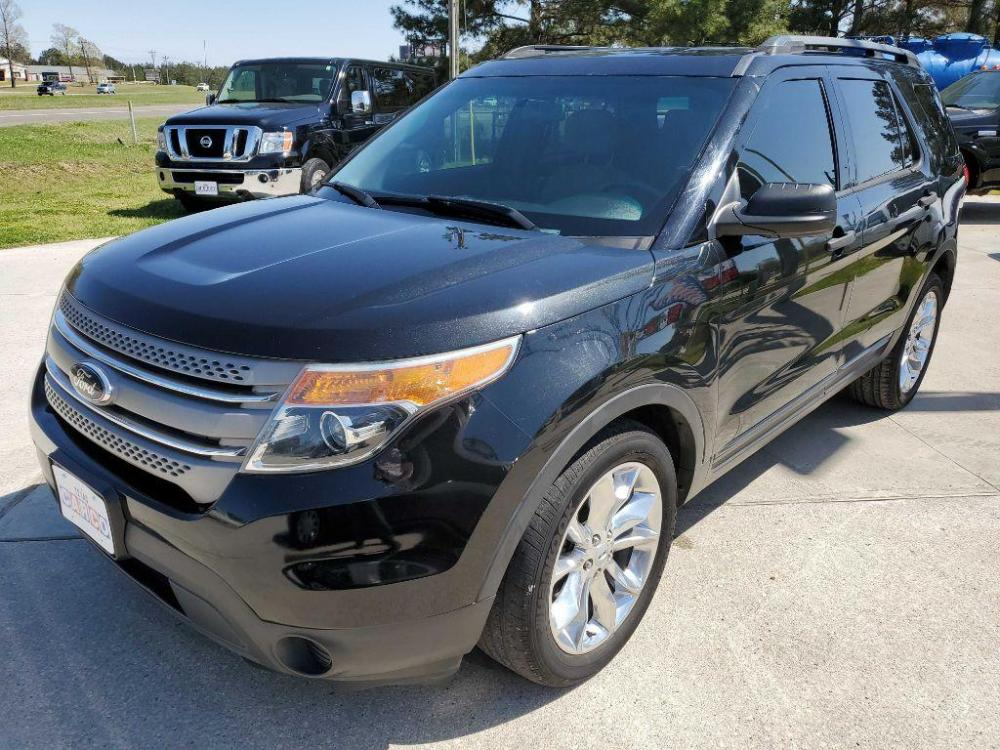 2014 Black FORD EXPLORER (1FM5K7B85EG) with an 3.5L engine, Automatic transmission, located at 3553 US Hwy 190 W., Livingston, TX, 77351, (936) 967-8141, 30.812162, -95.077309 - Photo #0