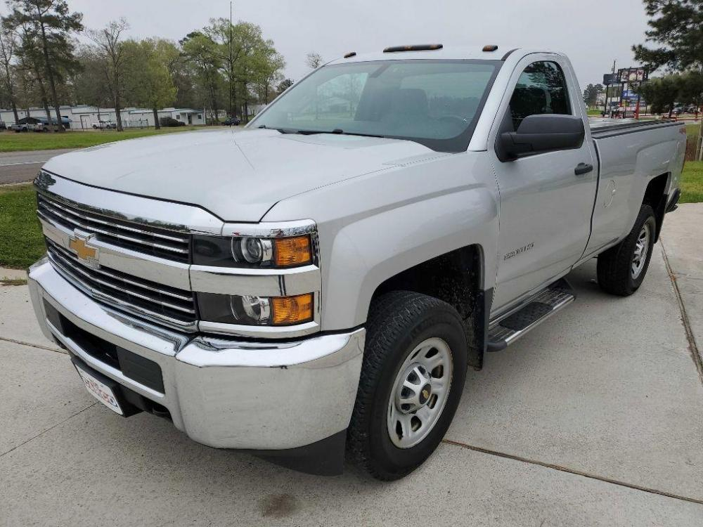 2015 Silver CHEVROLET SILVERADO 2500 HEAVY DUTY (1GC0KUEG9FZ) with an 6.0L engine, Automatic transmission, located at 3553 US Hwy 190 W., Livingston, TX, 77351, (936) 967-8141, 30.812162, -95.077309 - Photo #0
