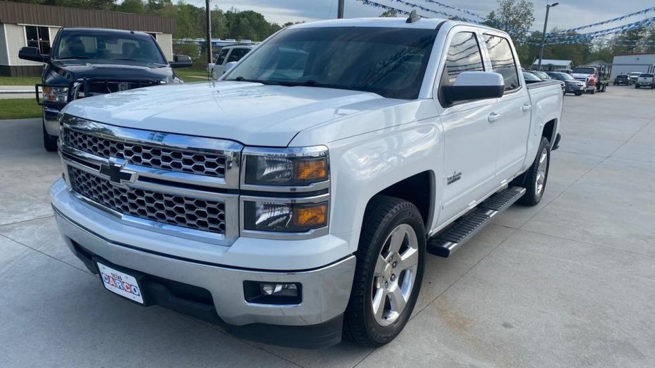 2015 White CHEVROLET SILVERADO 1500 LT (3GCPCREC3FG) with an 5.3L engine, Automatic transmission, located at 3553 US Hwy 190 W., Livingston, TX, 77351, (936) 967-8141, 30.812162, -95.077309 - Photo #0