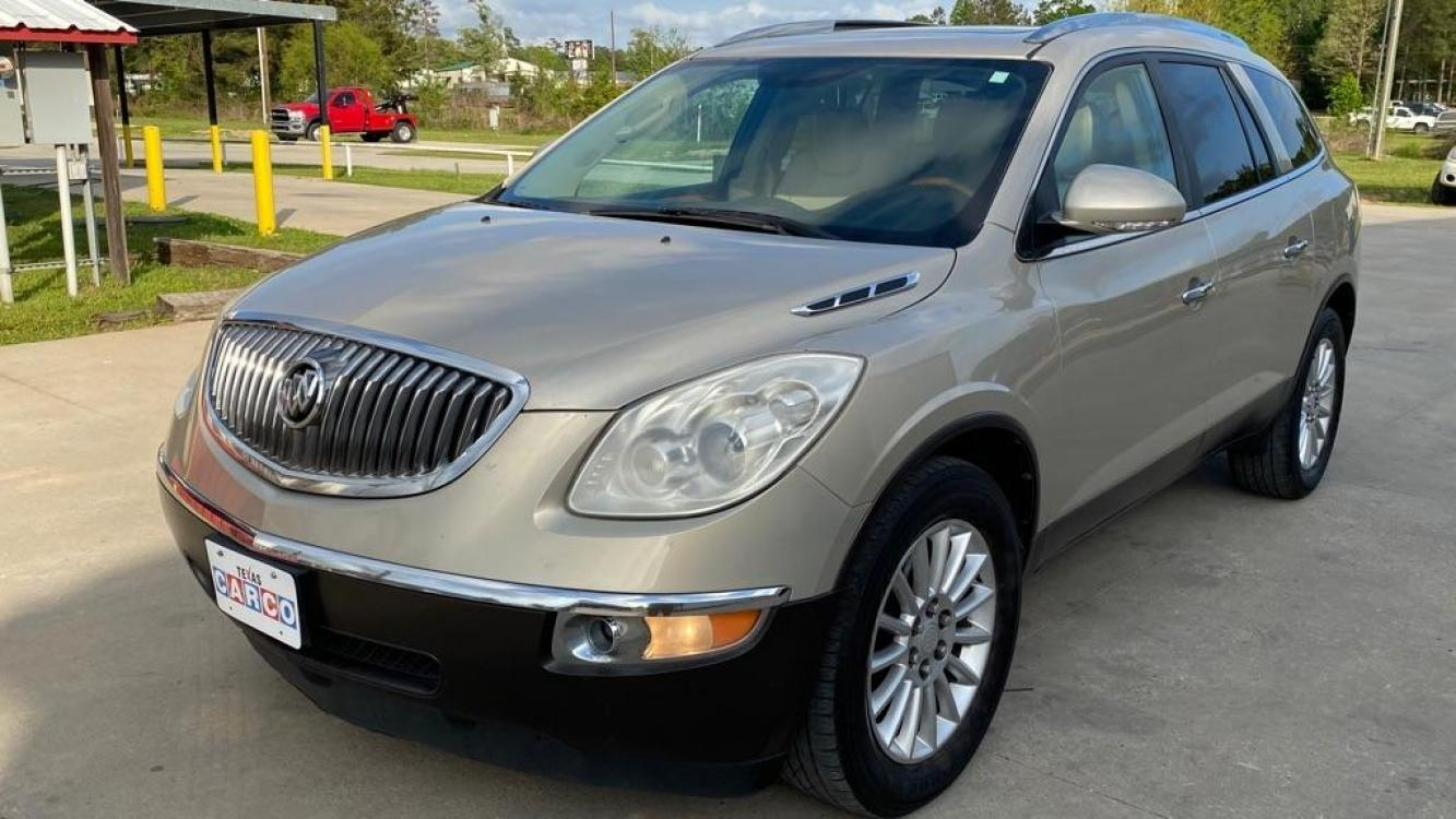 2012 Gold BUICK ENCLAVE (5GAKRCEDXCJ) with an 3.6L engine, Automatic transmission, located at 3553 US Hwy 190 W., Livingston, TX, 77351, (936) 967-8141, 30.812162, -95.077309 - Photo #0