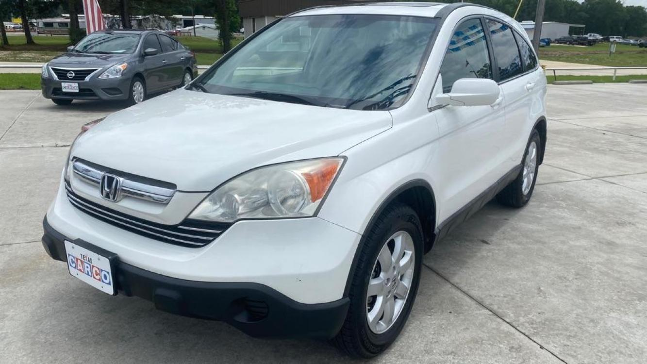 2008 White HONDA CR-V EXL (5J6RE48798L) with an 2.4L engine, Automatic transmission, located at 3553 US Hwy 190 W., Livingston, TX, 77351, (936) 967-8141, 30.812162, -95.077309 - Photo #0