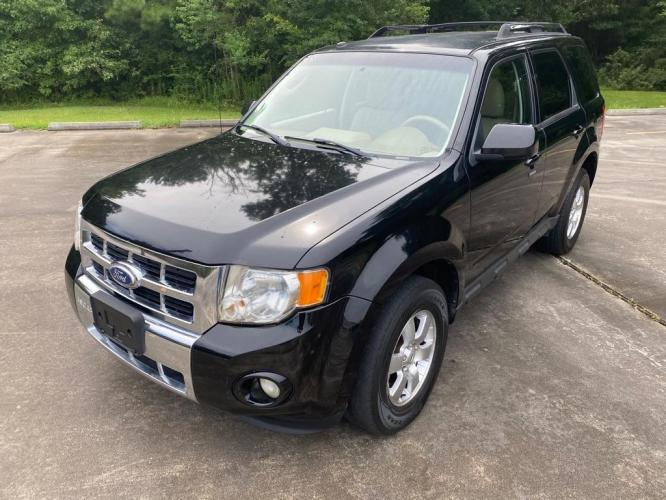 2010 Black FORD ESCAPE LIMITED (1FMCU0E79AK) with an 2.5L engine, Automatic transmission, located at 3553 US Hwy 190 W., Livingston, TX, 77351, (936) 967-8141, 30.812162, -95.077309 - Photo #0