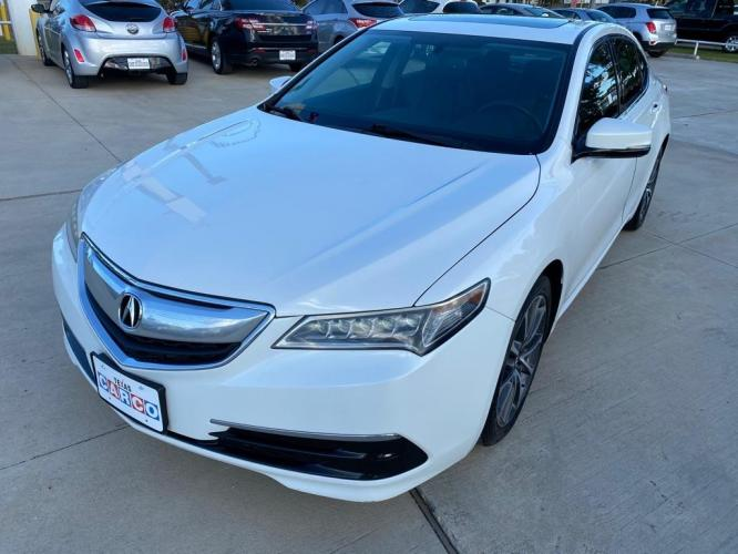 2015 White ACURA TLX (19UUB2F30FA) with an 3.5L engine, Automatic transmission, located at 3553 US Hwy 190 W., Livingston, TX, 77351, (936) 967-8141, 30.812162, -95.077309 - Photo #0